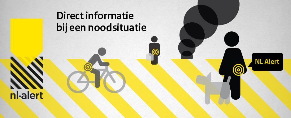 Maandag 4 juni landelijk controlebericht NL-Alert